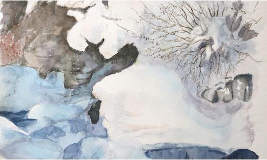 creux de neige
